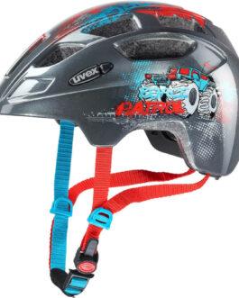 UVEX kask rowerowy dziecięcy FINALE JUNIOR rozmiar 51-55 cm