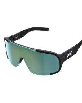 POC okulary rowerowe ASPIRE BLACK Soczewki ZEISS Deep Green